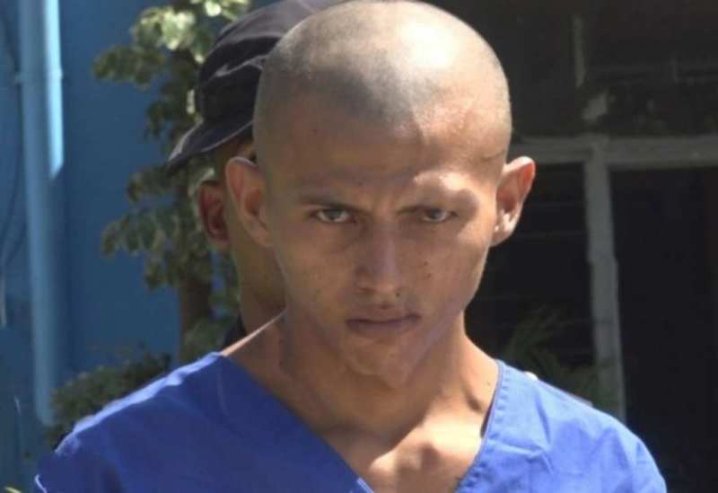 Jasiel Ismael Prado Maradiaga, acusado de haber asesinado a Harim Searim Chumil Rosales