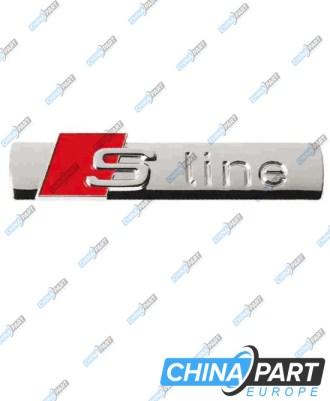 S Line Ženkliukas Emblema (Chrome Silver)