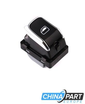 Audi A4 B8 Q5 Langų pakėlimo mygtukas (Chromas)