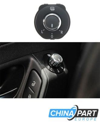 Volkswagen Polo veidrodėlių jungiklis su chromu