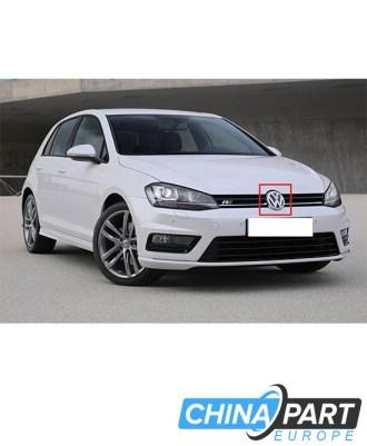 Volkswagen Golf 7 Priekinių grotelių ženkliukas emblema