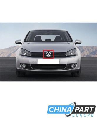 Volkswagen Golf 6 Priekinis ženkliukas emblema