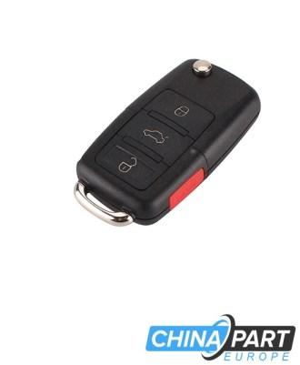 Volkswagen Raktelio korpusas 4 Mygtukai Be Geležtės (Rakto korpusas)