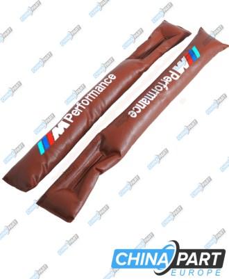 M-Tech Tarpų tarp sėdynių užpildymo pagalvėlės (Brown)