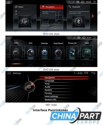 BMW X5 E70 X6 E71 Multimedija su navigacija (Android 7.1) CCC Sistemai
