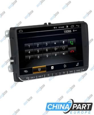 Volkswagen Škoda Seat Multimedija su navigacija (Android 7.1)