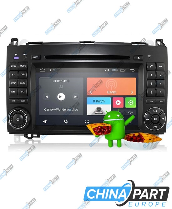 Mercedes Benz W169 W245 W639 W906 Sprinter Multimedia (Android 10)
