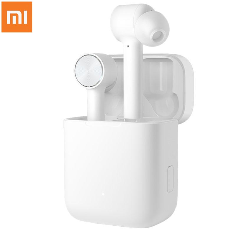 2019 Оригинал Xiaomi Air гарнитура TWS Bluetooth True беспроводной стерео наушники ANC переключатель ENC Авто пауза коснитесь управление Airdots Pro