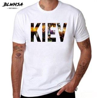 """Мужская футболка с принтом """"Киев"""""""