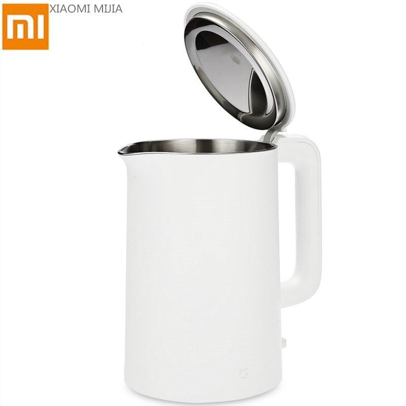 Оригинальный Xiao mi Цзя mi Электрический чайник воды 1.5L авто Механизм защиты 304 Нержавеющая сталь Внутренний слой воды быстро кипения