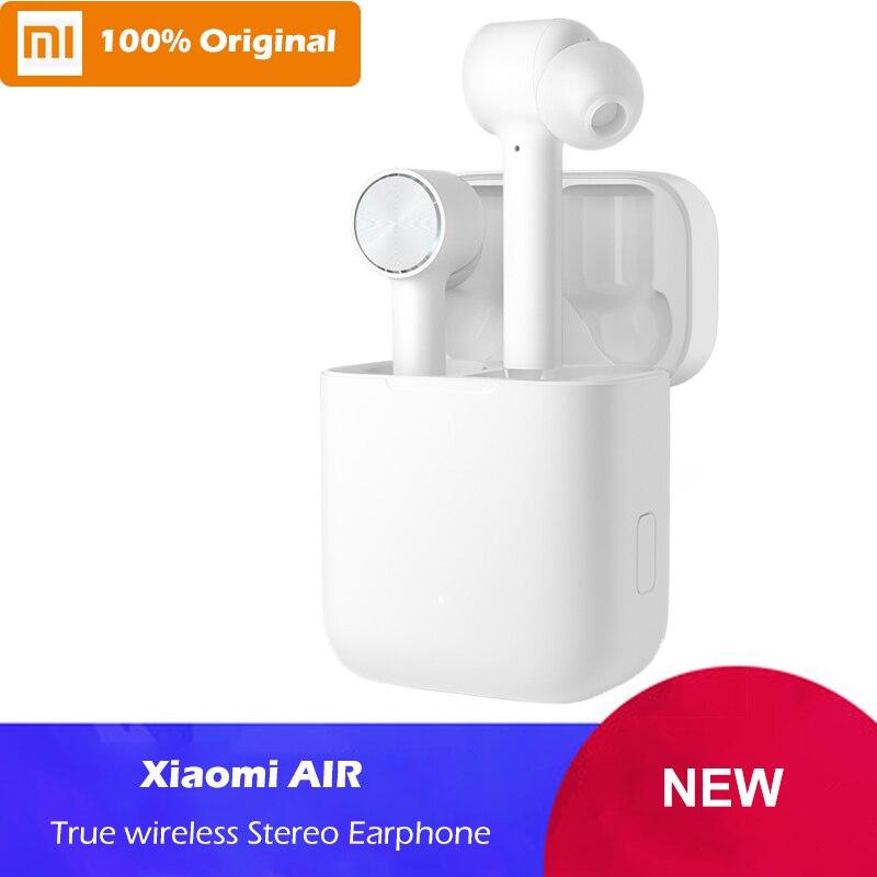 Оригинальный Xiaomi Air TWS Bluetooth гарнитура истинный беспроводной стерео наушники Xiaomi AirDots Pro ANC переключатель сенсорного управления AAC HD звук