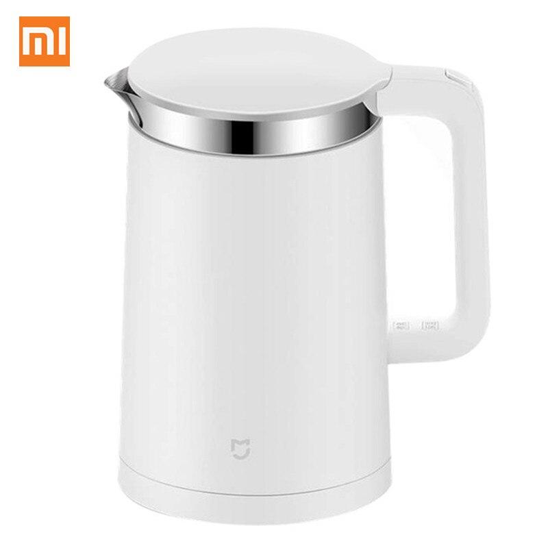 Xiaomi Mijia Электрический чайник с термостатом 1.5L 12 часов постоянной температура Smart APP управление бойлер нержавеющая сталь