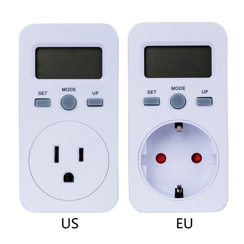 Цифровой счетчик электроэнергии, ЖК-монитор энергосбережения, электрический счетчик электроэнергии, измеритель использования, контрольна...