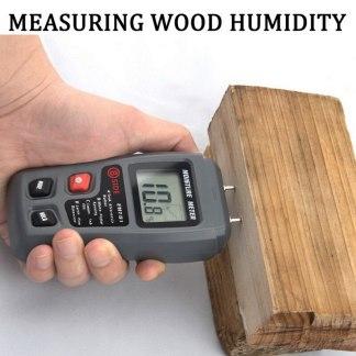 Бюджетный измеритель влажности дерева с Алиэкспресс