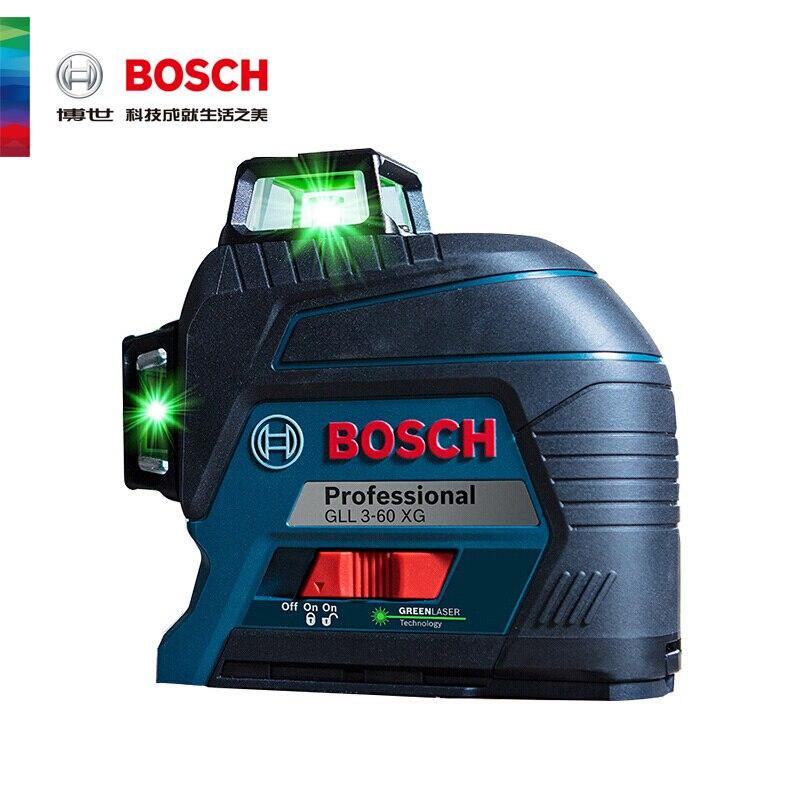 Лазерный уровень с лазером зеленого цвета 12 он-лайн GLL3-60XG маркировки инструмент линия голос штукатурные Dot стены прилипания инструмент