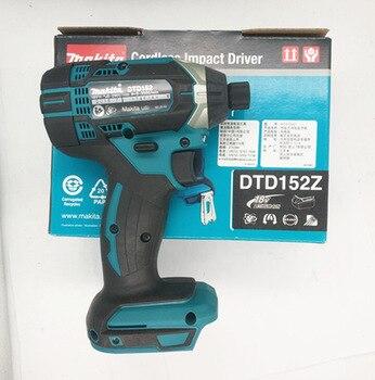 Makita DTD152Z Замена 18V LXT TD152D DTD152 DTD152RME DTD152RFE для DTD146Z DTD146RME/RFE/RYEL Аккумуляторный ударный драйвер