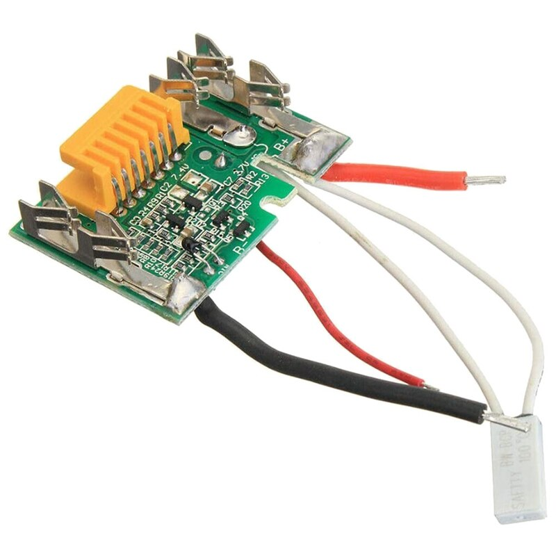 Монтажа на печатной зарядная Модульная плата Запчасти, литий-ионный аккумулятор защиты для Makita Замена Батарея PCB Li-Ion 18V Батарея PCB плата для ...