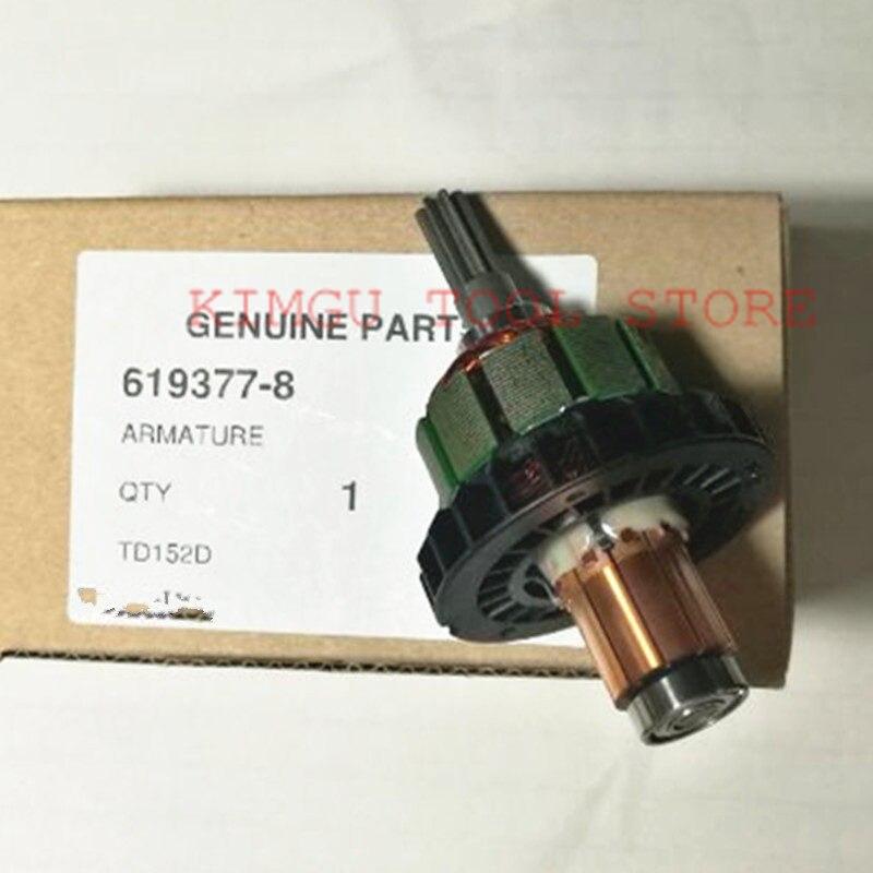 Оригинальный двигатель 619377-8 для Makita DTD152RME DTD152Z DTD152 TD152D BTD152 XDT11