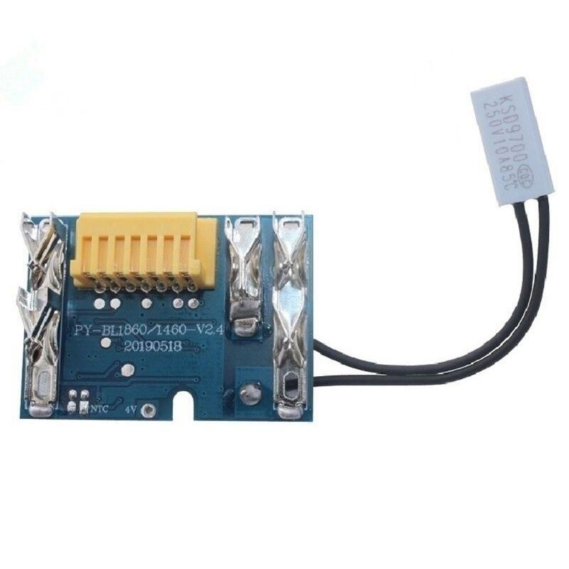 Замена платы PCB для аккумулятора Makita BL1830 BL1840 BL1850 BL1860, 18 в