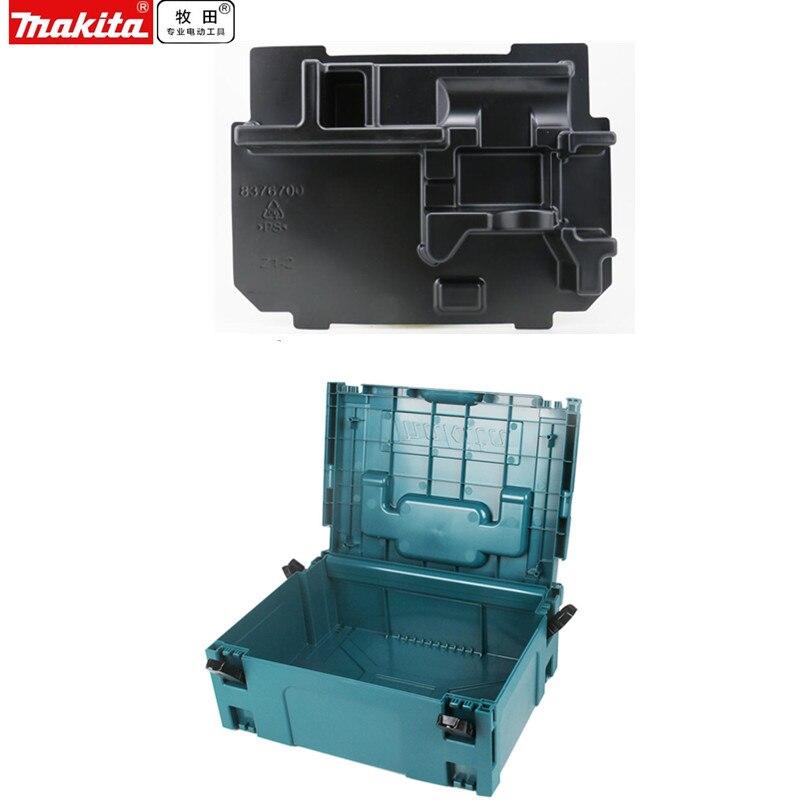 Makita MAKPAC Type 2 вставка 837670A0 для DTP141 DTS130 DTS131 DTS141 DTW152 DTW250 DTW251 DTW253