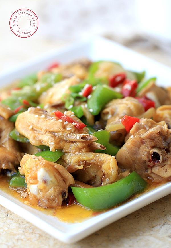 Chinese Hunan Chicken - Donan Chicken   China Sichuan Food