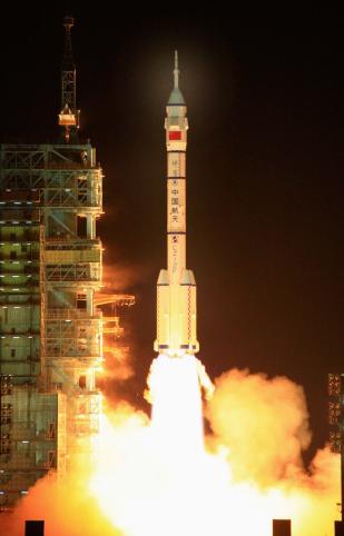 Shenzhou 7 launch