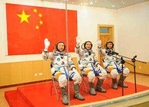 Shenzhou 7 crew
