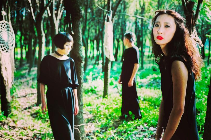 Tan!n Black Cotton Daven Zhang Shanghai