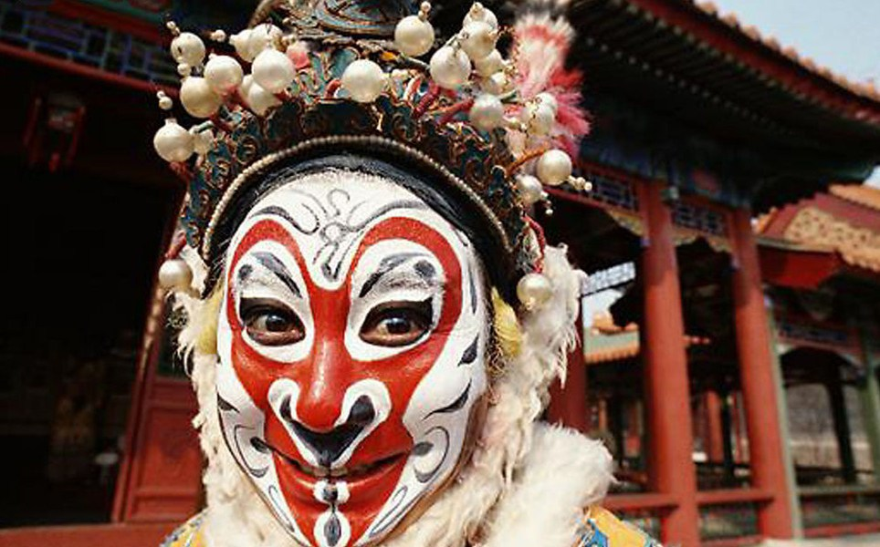 Beijing opera's monkey mayhem. Photo credits: China Culture Tour
