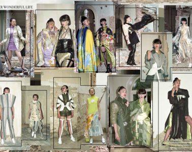 Designer Yuhan: MA Graduation Collection (Royal Academy Of Fine Arts, Antwerp, Belgium). Copyright@Yuhan, 2017/2018