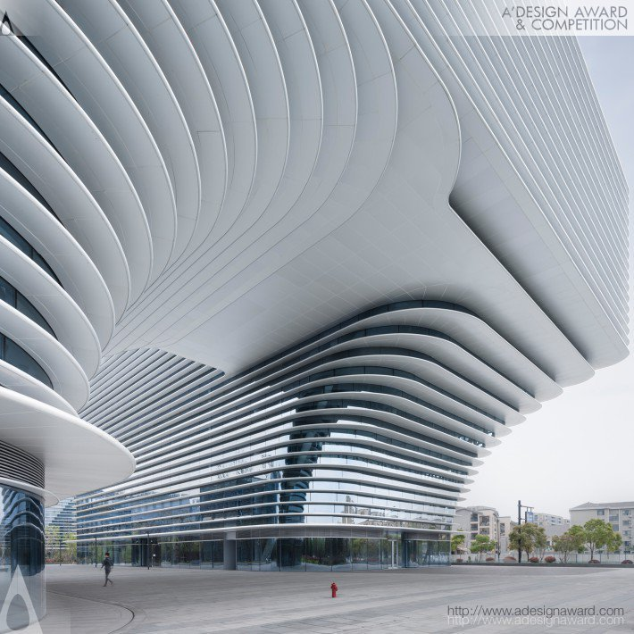 Cloud Park (Xixi Green Office Complex) by Fanhao Meng