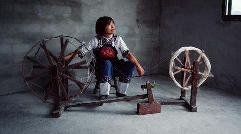 Designer Angel Chang. Image courtesy of BoF