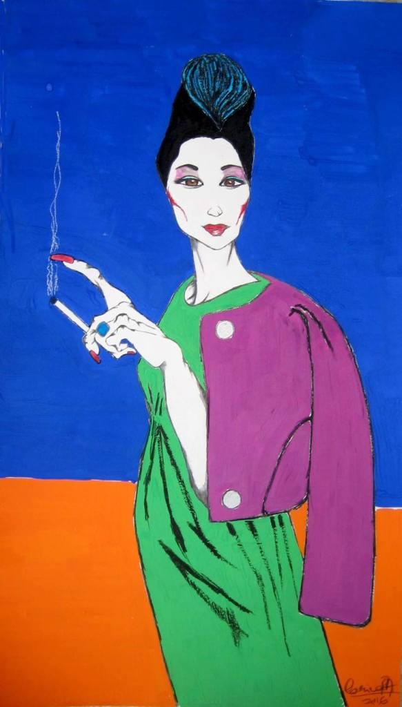 """""""China Woman"""" by Corina"""
