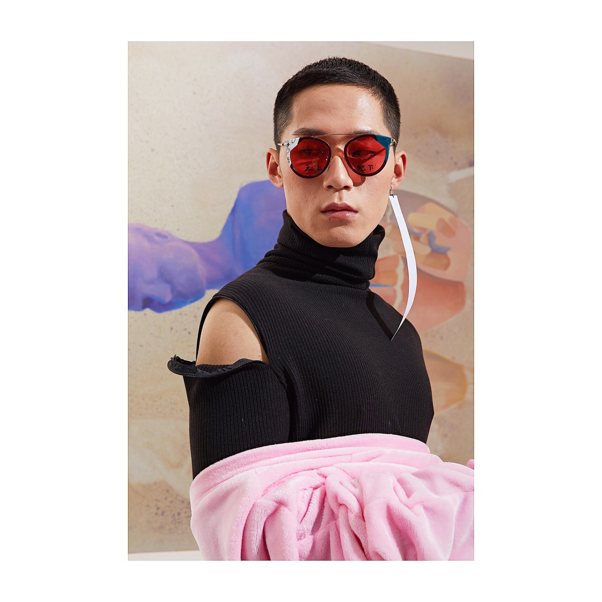 PINK. Is our new obsession. Design by Li Yiyang for LYAN, 2019. All rights reserved