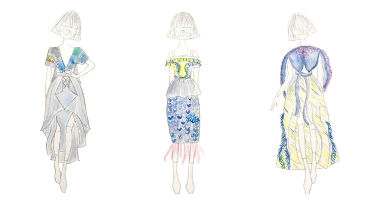 Redress Design Award 2019 Semi finalist_ 藍眼淚-Yiting Yu