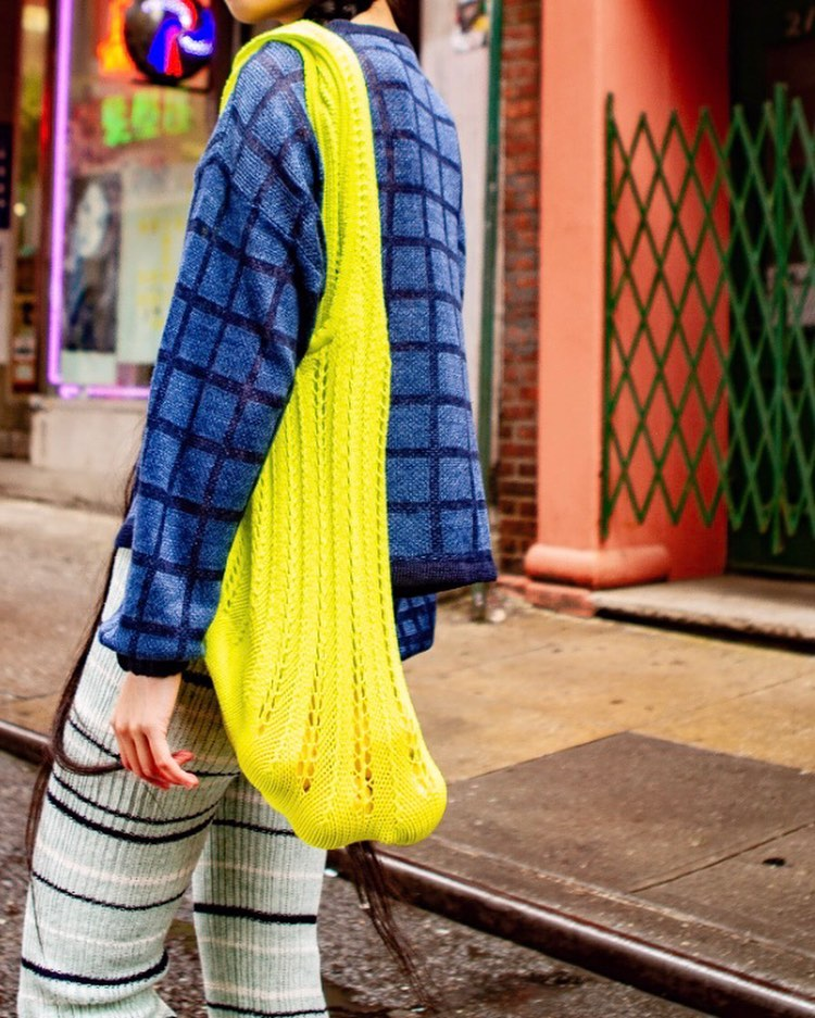 Yan Yan Neon Knits SS19. All rights reserved