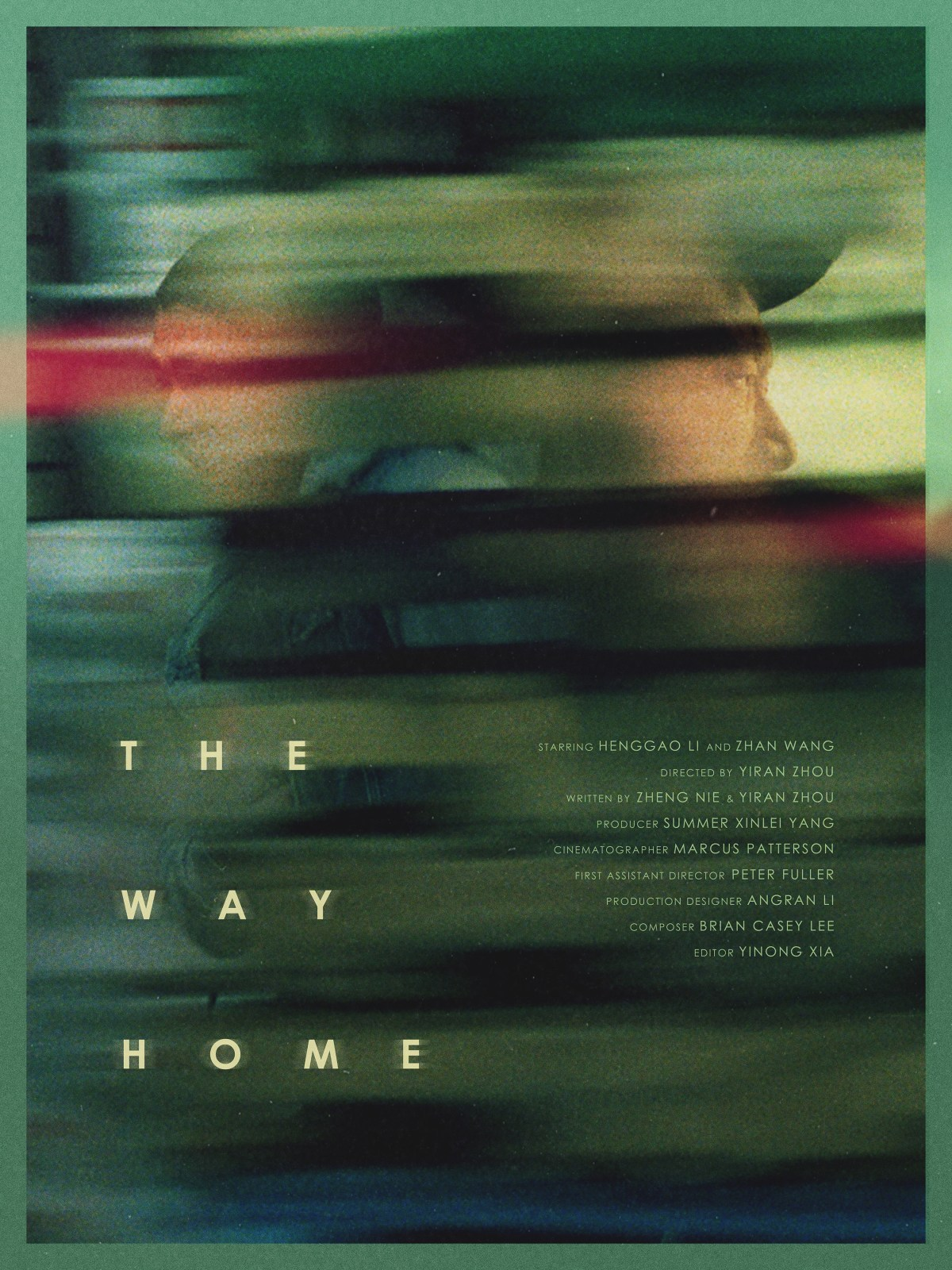 """The Way Home,"" the movie poster, in 2018. The image comes courtesy of Summer Xinlei Yang, all rights reserved"