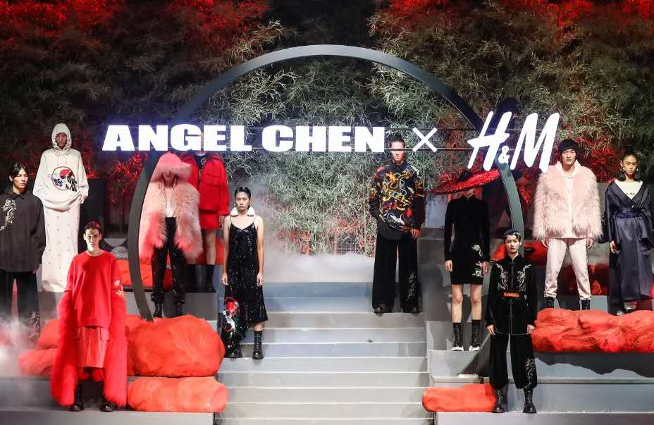 Angel Chen x H&M, courtesy of H&M