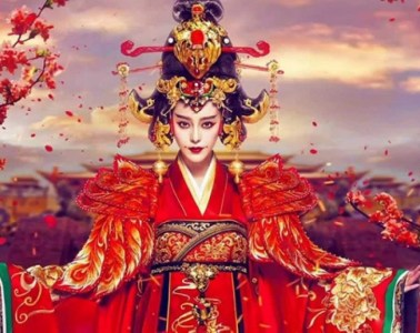 """Empress Wu Zetian (624-705) as portrayed in the 2019 Chinese hit drama series """"Empress of China"""""""