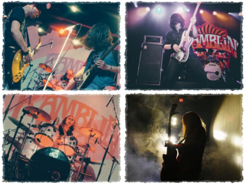 Image courtesy of Ramblin' Roze guitarist Chen Waike