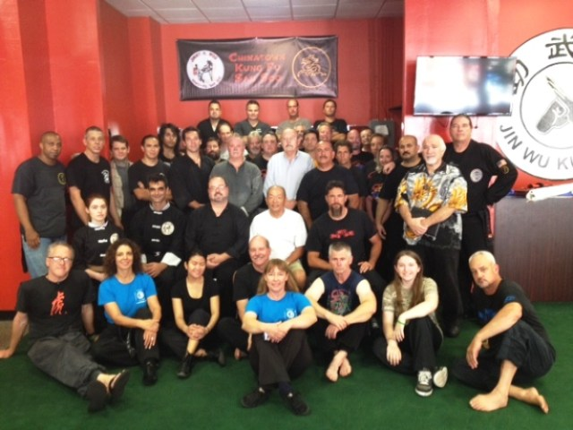 From the Chinatown Kung Fu San Soo Seminar on July 25th, 2015
