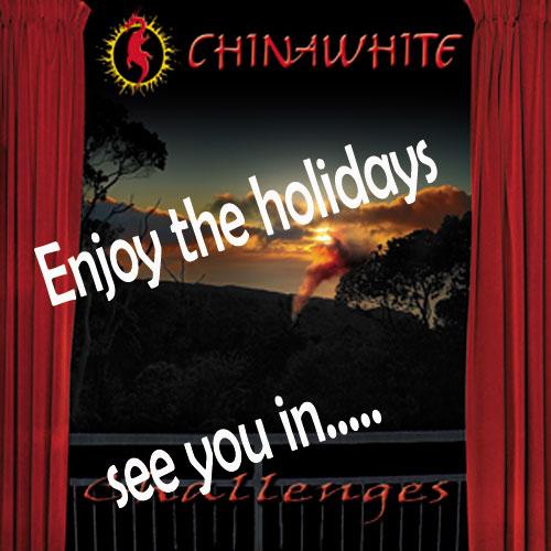 chinawhite happy holidays