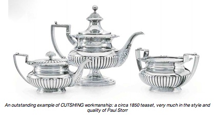 Chinese-export-silver.com - Cutshing Teaset
