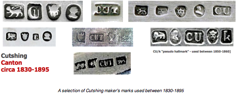 Chinese-export-silver.com - Cutshing marks