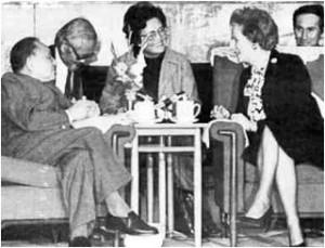 Deng Xiapeng & Mrs Thatcher