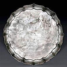 Sung silver dish