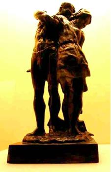 Tou Se We bronze sculpture