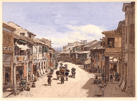 Queens Road Hong Kong 1865