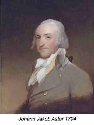 Chinese Export Silver Johann Jakob Astor 1794