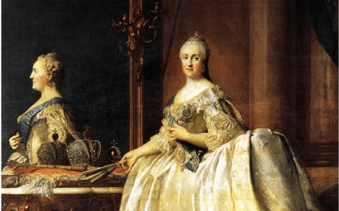 Catherine the Great by Vigilius Erichsen